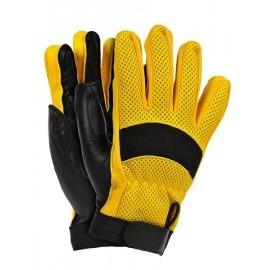 Rękawice ochronne wykonane ze skóry koziej połączonej z tkaniną RYELOT