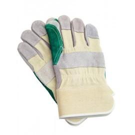 Rękawice ochronne wzmacniane skórą bydlęcą RBPOWER