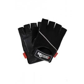 Rękawice ochronne wykonane ze skóry bydlęcej połączonej z tkaniną, bez końcówek na palcach RMC-PICTOR