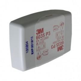 Filtr przeciwpyłowy 3M 6035 kpl. 2 szt.