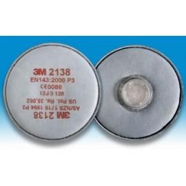 Filtr przeciwpyłowy 3M 2138 kpl. 2 szt.