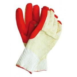 Rękawice ochronne wykonane z dzianiny, powlekane zakończone ściągaczem RECOREX