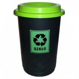 Kosz do segregacji odpadów ECO BIN 50l