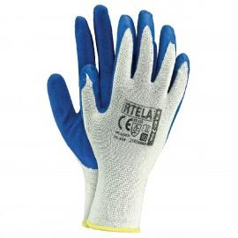 Rękawice ochronne wykonane z poliestru, powlekane latexem RTELA