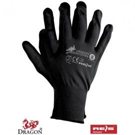Rękawice ochronne wykonane z nylonu, powlekane poliuretanem RNYPO-ULTRA