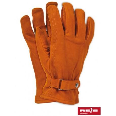 Rękawice ochronne wykonane z wysokiej jakości skóry cielęcej RBNORTHPOLE