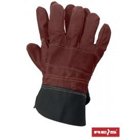 Rękawice ochronne w całości wykonane ze skóry bydlęcej licowej RLCS