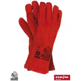 Rękawice ochronne w całości wykonane ze skóry bydlęcej RSPBCININDIANEX