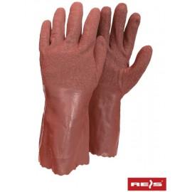 Rękawice ochronne gumowe flokowane RFISHING