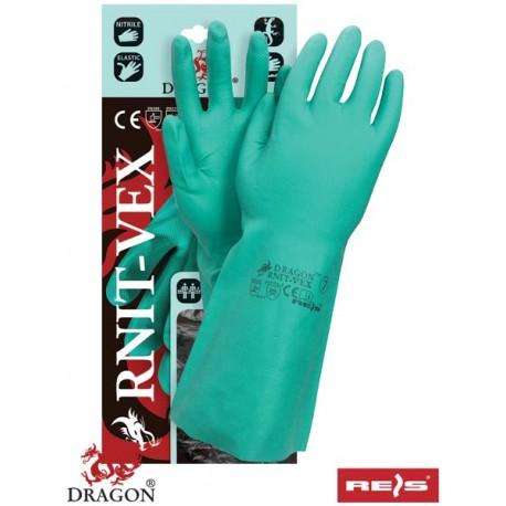 Rękawice ochronne wykonane z kauczuku nitrylowego RNIT-VEX