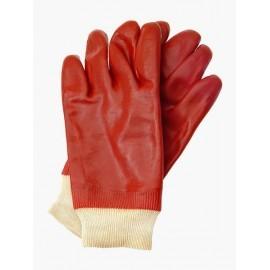 Rękawice ochronne wykonane z PCV, zakończone ściągaczem RPCVS