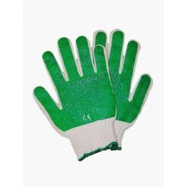 Rękawice ochronne wykonane z dzianiny, powlekane mieszanką latexu i PCV RR