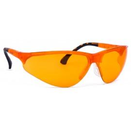 Okulary TERMINATOR PC AS UV pomarańczowe