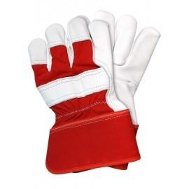Rękawice ochronne wzmacniane skórą bydlęcą RHIP