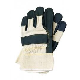 Rękawice ochronne wzmacniane skórą bydlęcą RL
