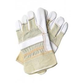 Rękawice ochronne wzmacniane skórą bydlęcą RLCJ
