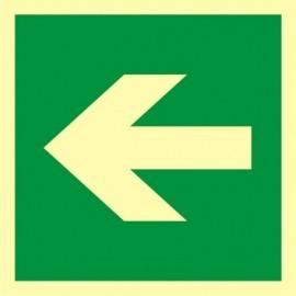 Kierunek drogi ewakuacyjnej 1