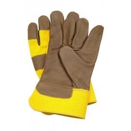 Rękawice ochronne wzmacniane skórą bydlęcą RLCMŻ