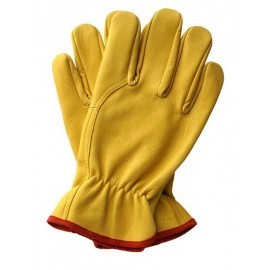 Rękawice ochronne wykonane z wysokiej jakości skóry bydlęcej RLCSYLUX