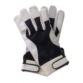 Rękawice ochronne wykonane z wysokiej jakości skóry koziej RLEVEREST