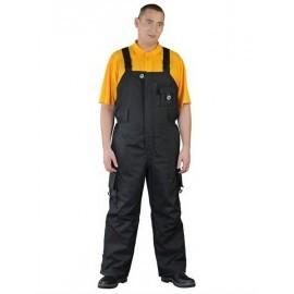Spodnie ogrodniczki zimowe BLACKER 100% poliester