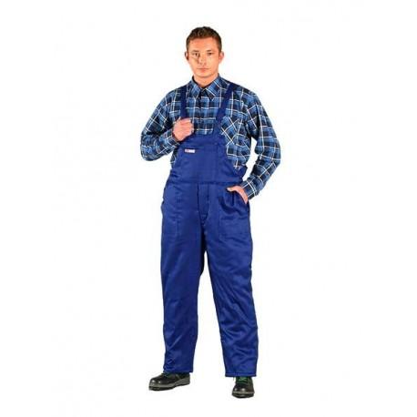 Spodnie ocieplane, ogrodniczki SMO-PLUS 65% poliester, 35% bawełna