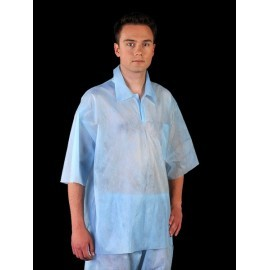 Bluza ochronna z polipropylenu z krótkim rękawem BFI-POLIPROPYLEN