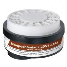 Filtropochłaniacz 2051 A1 P3 R D kpl. 2 szt.