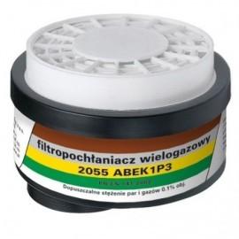 Filtropochłaniacz 2055 ABEK1 P3 R D kpl. 2 szt.
