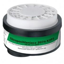Filtropochłaniacz 2074 K2 P3 kpl. 2 szt.