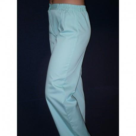 Spodnie lekarskie damskie z elanobawełny 9-54