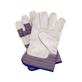Rękawice ochronne wzmacniane skórą bydlęcą RBCMPAS