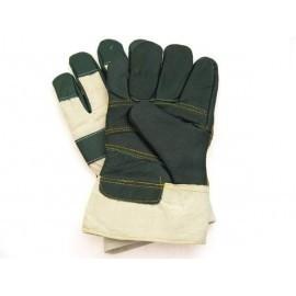 Rękawice ochronne ocieplane wzmacniane skórą bydlęcą RLO