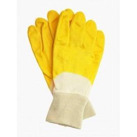 Rękawice ochronne wykonane z nitrylu, zakończone ściągaczem RNITZ