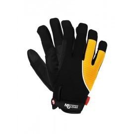 Rękawice ochronne wykonane z miękkiej skóry syntetycznej połączonej z tkaniną RMC-ANDROMEDA