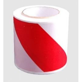 Taśma ostrzegawcza biało-czerwona 100mb