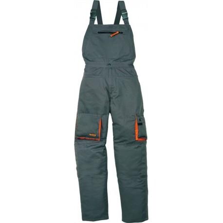 Spodnie robocze ogrodniczki MACH2 M2SAL z poliestru 65% i bawełny 35%