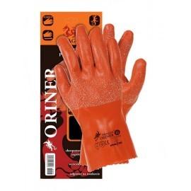 Rękawice ochronne wykonane z gumy ORINER