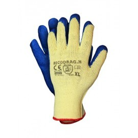 Rękawice ochronne wykonane z dzianiny powlekane gumą RECODRAG