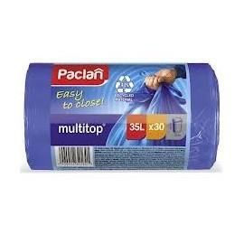 PACLAN Worki na śmieci multitop 35l / 30 szt
