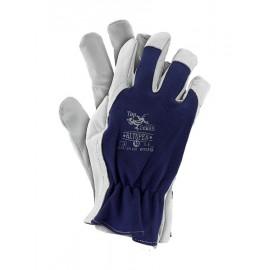 Rękawice ochronne wykonane z wysokiej jakości skóry koziej RLTOPER