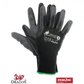 Rękawice ochronne wykonane z nylonu, powlekane nitrylem RNIFO-ULTRA