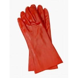Rękawice ochronne wykonane z PCV, zakończone mankietem RPCV35