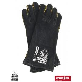 Rękawice ochronne w całości wykonane ze skóry bydlęcej RSPBIZINDIANEX