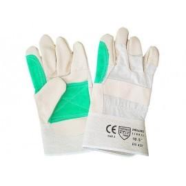 Rękawice ochronne wzmacniane skórą bydlęcą RBPOWERLUX