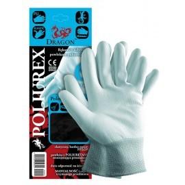 Rękawice ochronne wykonane z nylonu, powlekane poliuretanem POLIUREX