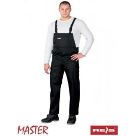 Spodnie ochronne ogrodniczki MASTER 65% poliester 35% bawełna