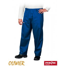 Spodnie ochronne do pasa 65% poliester, 35% bawełna OLIWIER