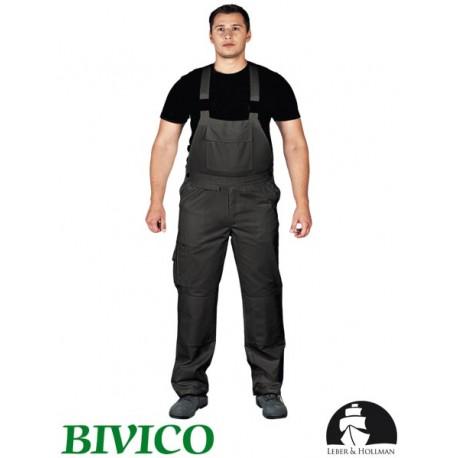 Spodnie ochronne ogrodniczki BISTER 65% poliester, 35% bawełna