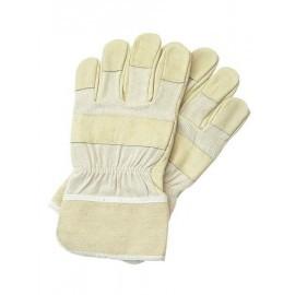 Rękawice ochronne wzmacniane wysokiej jakości skórą świńską RLCJPAWA